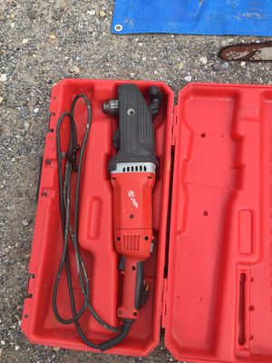 Milwaukee angle drill good condition for Sale in Bailey's Crossroads, VA