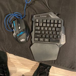 Half Keyboard With A Mouse for Sale in Strathmore, NJ