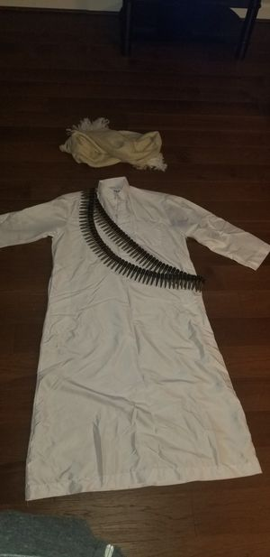 Halloween adult costume Osama bin latin for Sale in Alexandria, VA