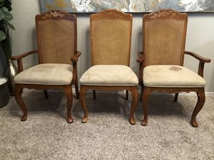 3 dining chairs - project kitchen chairs for Sale in Gilbert, AZ
