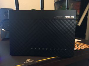 Asus AC1900 Dual Band 802.11ac Gigabit Router for Sale in Houston, TX