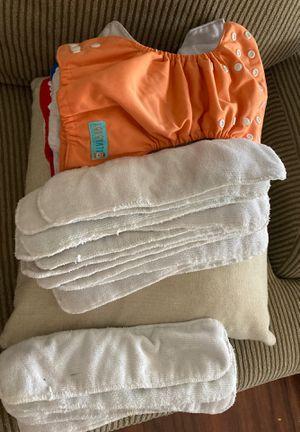 12 alva baby newborn cloth diapers for Sale in Gilbert, AZ