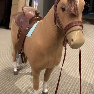 American Girl Doll Horse With Saddle for Sale in Tempe, AZ