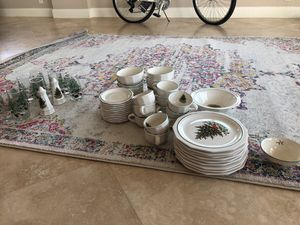 Set of pfaltzgraff Christmas dishes for Sale in Fort Lauderdale, FL