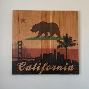 California Wooden Sign for Sale in San Diego, CA