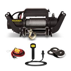 Champion Power Equipment 10,000-lb. Truck/SUV Winch Kit with Speed Mount and Remote Control for Sale in Houston,  TX