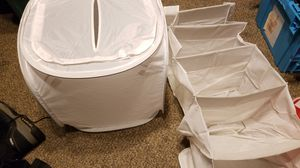 Folding Laundry Basket and Closet Organizer for Sale in Auburn, WA