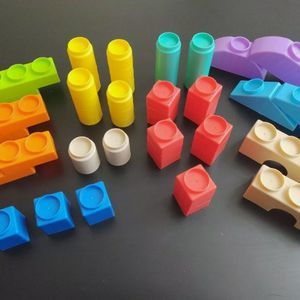 49 Piece Plastic Building Blocks for Kids for Sale in Lakeville, MN
