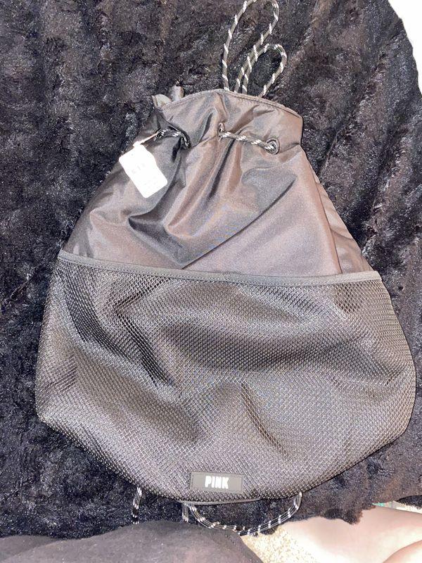 PINK drawstring backpack