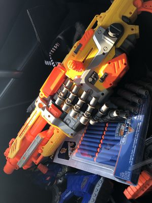 Nerf Vulcan Gun with Bullets for Sale in Pickerington, OH