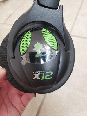 Turtle Beach Earforce X12 headset xbox for Sale in Clovis, CA