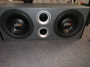 """Powerbass 12"""" Subwoofers 130 OBO for Sale in Millersville, PA"""