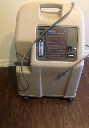Invacare platinum xl oxygen concentration machine for Sale in Payson, AZ