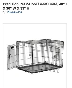 Large Dog Crate for Sale in Hemet, CA