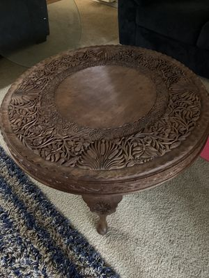 Antique wood table for Sale in Whittier, CA