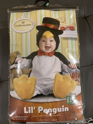 penguin infant toddler costume for Sale in Chesterfield, MO