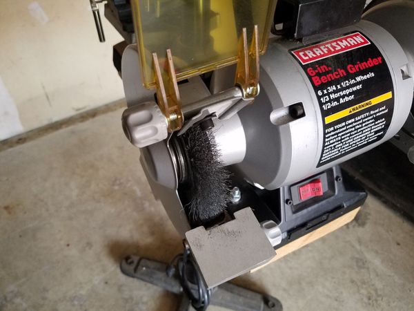 Amazing Craftsman 6 In Bench Grinder For Sale In Kirkland Wa Offerup Ibusinesslaw Wood Chair Design Ideas Ibusinesslaworg