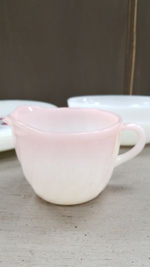 Fire King Creamer, 4 inches wide , 3 tall for Sale in Bellflower, CA