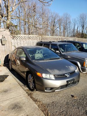2007 Honda Civic for Sale in MONTGOMRY VLG, MD