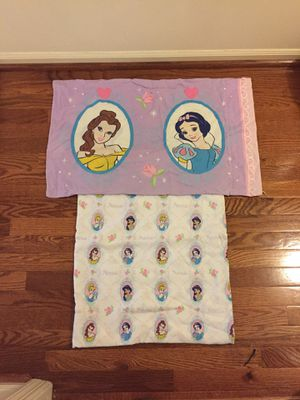 Disney pillow case and sheet for Sale in Silver Spring, MD