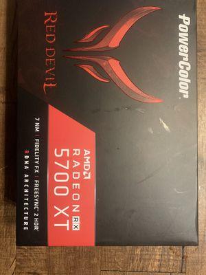 Powercolor red devil amd radeon rx 5700 xt 8gb for Sale in Sacramento, CA