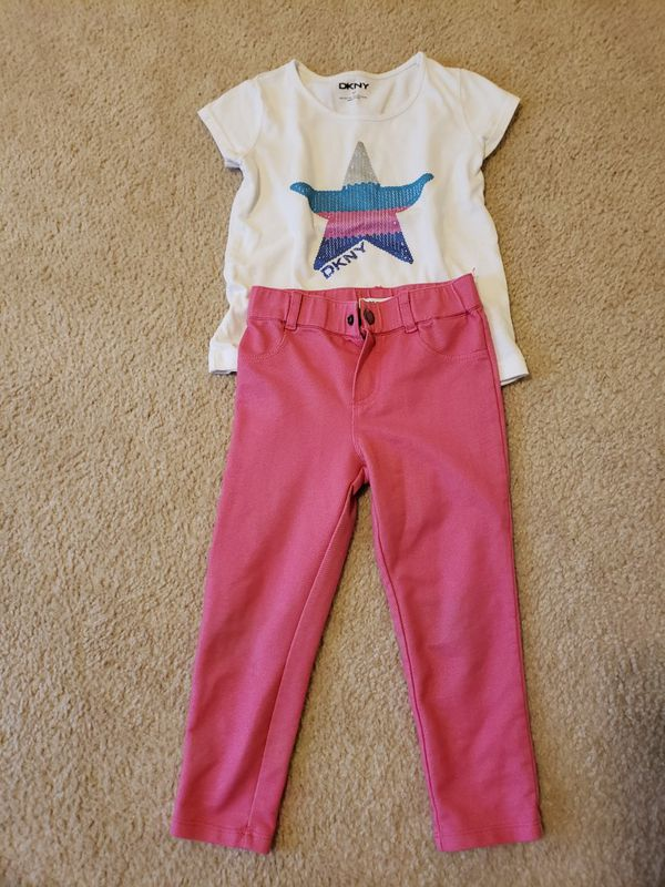 4T DKNY outfit