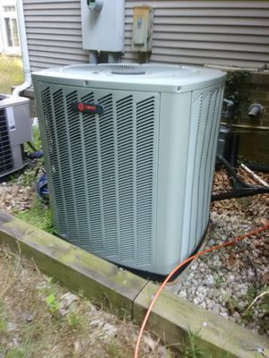 AC unit TRANE, almost brand new used for demo house for Sale in North Springfield, VA
