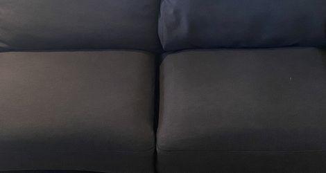 Black Mini Sofa (please read details) for Sale in Ontario,  CA
