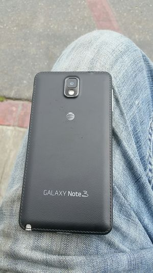 Samsung Galaxy Note three for at&t trade for verizon for Sale in San Francisco, CA