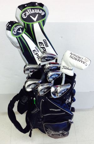 GOLF CLUBS CALLAWAY STEEL for Sale in Denver, CO