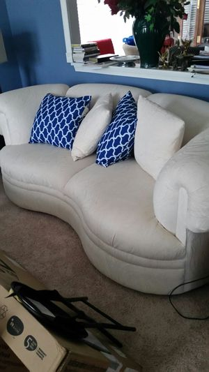 Off White Couch for Sale in Sterling, VA