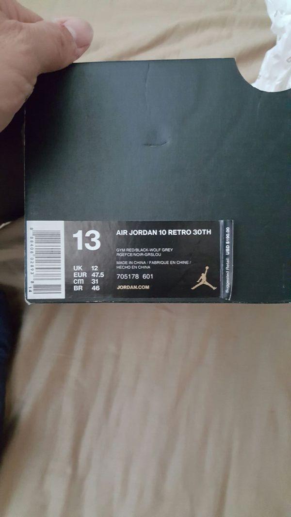 Jordan Bulls over Broadway 10s New in box