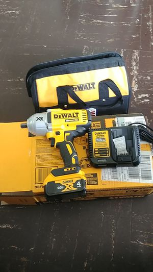"DEWALT 1/2"" IMPACT WRENCH ANVIL KIT Brushleess MOTOR for Sale in Silver Spring, MD"