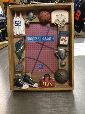 Basketball picture frame for Sale in Marlboro Township, NJ