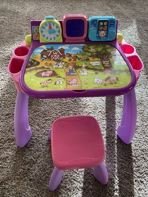VTech learning desk for Sale in Colorado Springs, CO
