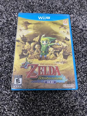 Legend of Zelda - The Windwaker HD Nintendo Wii U for Sale in Springfield, MO