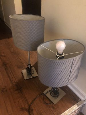 2 lamps for Sale in Fort Mill, SC