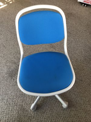 Blue IKEA desk chair for Sale in Lynn, MA