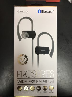 Sentry ProSeries Wireless Earbuds Bluetooth for Sale in Seven Hills, OH