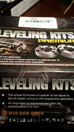 """05 to 18 tacoma 3""""lift kit for Sale in Fullerton, CA"""
