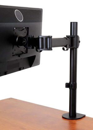 NEW 10 to 27 inches Single computer screen monitor holder stand clamp mount for Sale in Covina, CA
