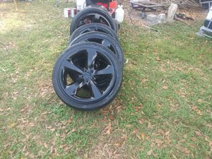 4 rims and tires off of a dodge charger for Sale in Ragland, AL