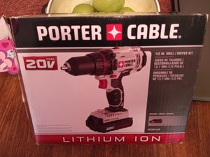 New Porter Cable 20v Drill for Sale in Grove City, OH