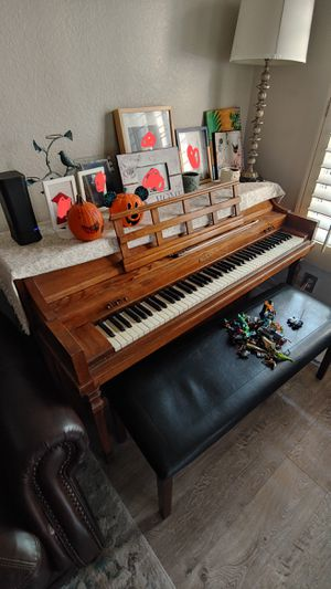 Classic, well maintained, upright Baldwin piano for free for Sale in Poway, CA