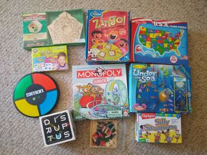 Box of Kids Games for ages 5+ for Sale in O'Fallon, MO