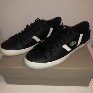 NEW Men's Lacoste Black Sneakers for Sale in Los Angeles, CA