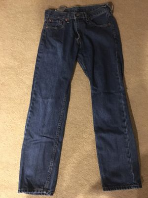 Levi's 505 Regular Fit Men's Jeans- Medium Stonewash- Size 30 for Sale in Fremont, CA