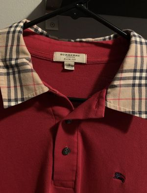 Vintage Burberry Long Sleeve Polo for Sale in Duvall, WA