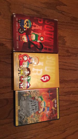 South Park season 2, 5 & movie for Sale in Columbus, MS