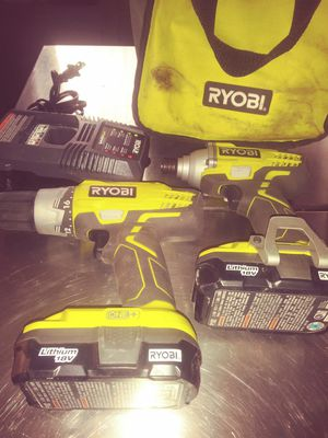 Drill impact& charger for Sale in Buffalo, NY